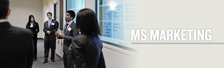 Masters in Marketing Degree Program