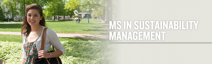 Masters in Sustainability Management Degree Program