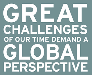 The great challenges of our time demand a global perspective